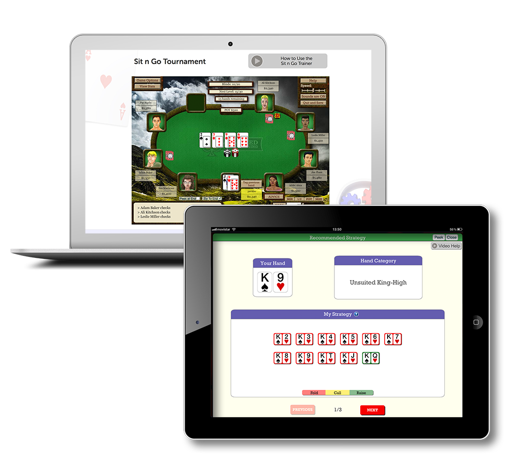 Poker training software free