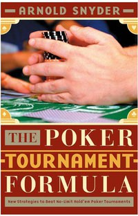 The Poker Tournament Formula
