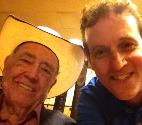 Selfie with Doyle Brunson