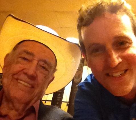Selfie with Doyle Brunson
