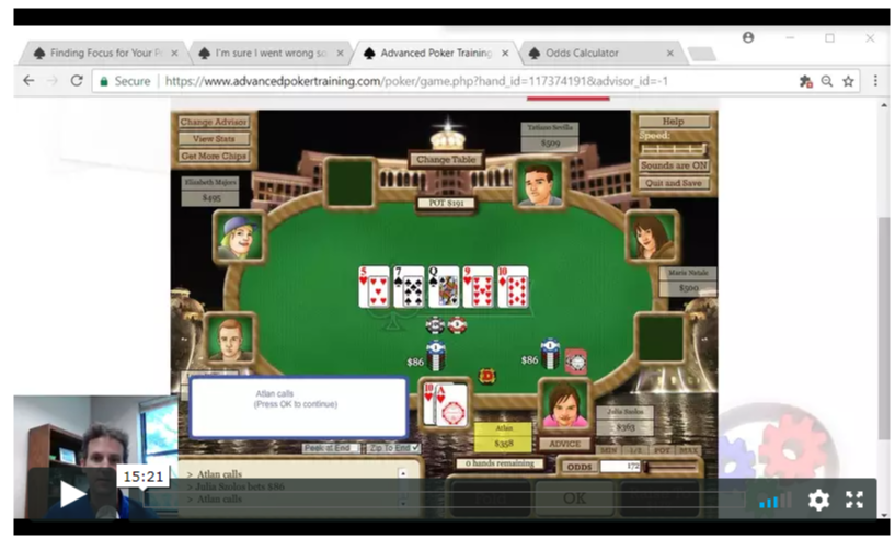 Poker Hand Analysis Arrives at APT - Advanced Poker Training