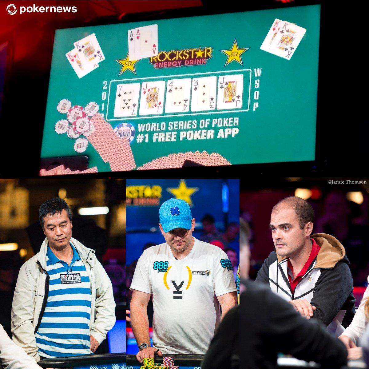 WSOP Main Event Hand